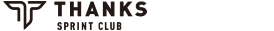 THANKS SPRINT CLUB(かけっこクラブ) Logo